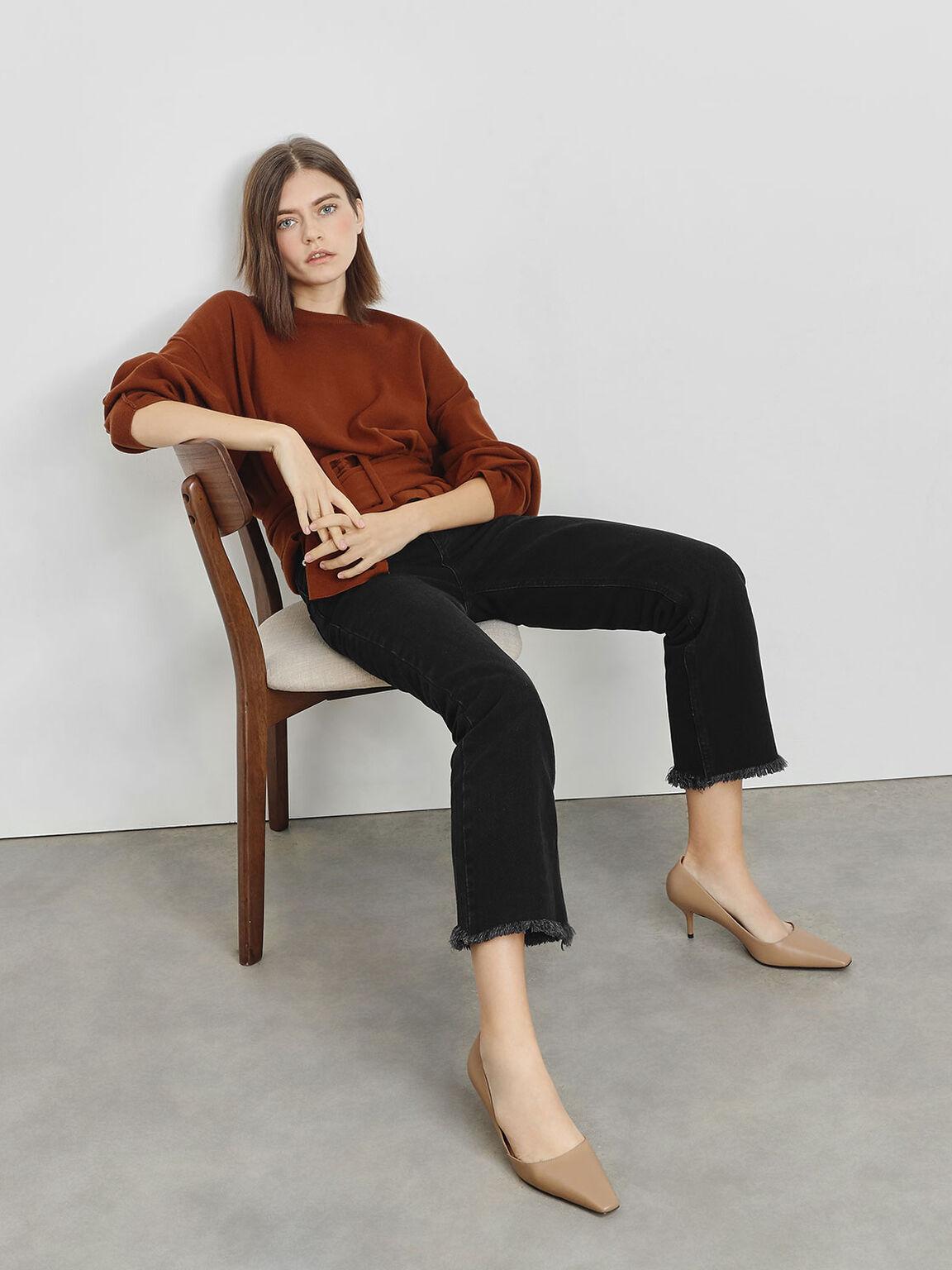D'Orsay Heels, Camel, hi-res