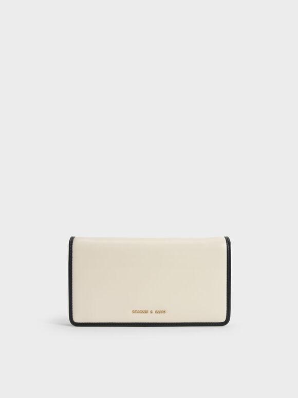 Long Wallet, Cream, hi-res