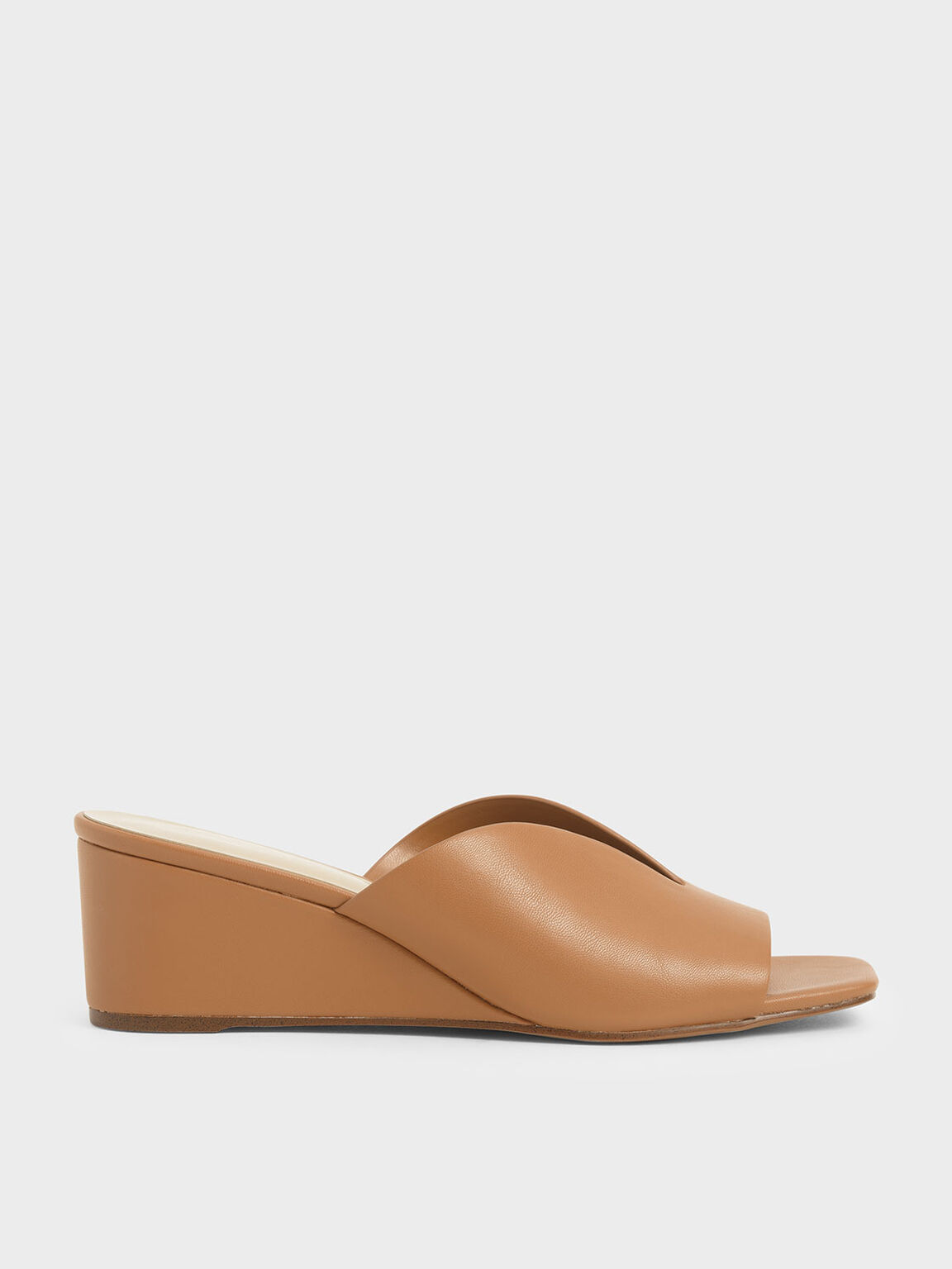 V-Cut Wedges, Brown, hi-res