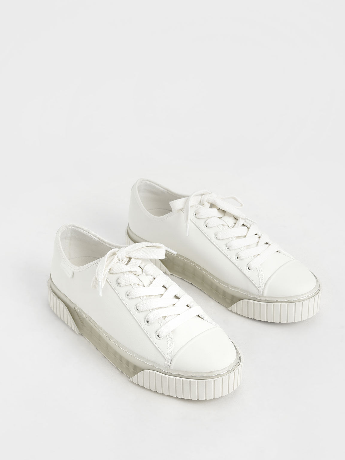 Purpose Collection 2021: Platform Sneakers, White, hi-res
