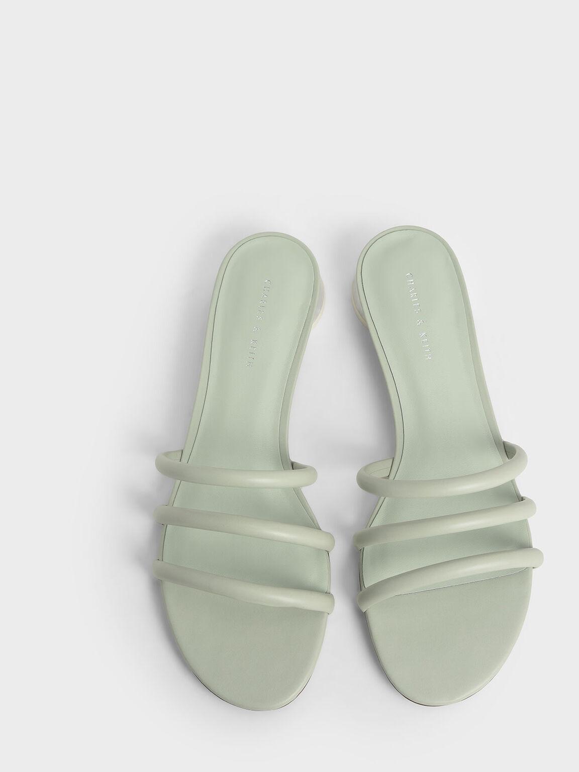 Tubular Mules, Mint Green, hi-res