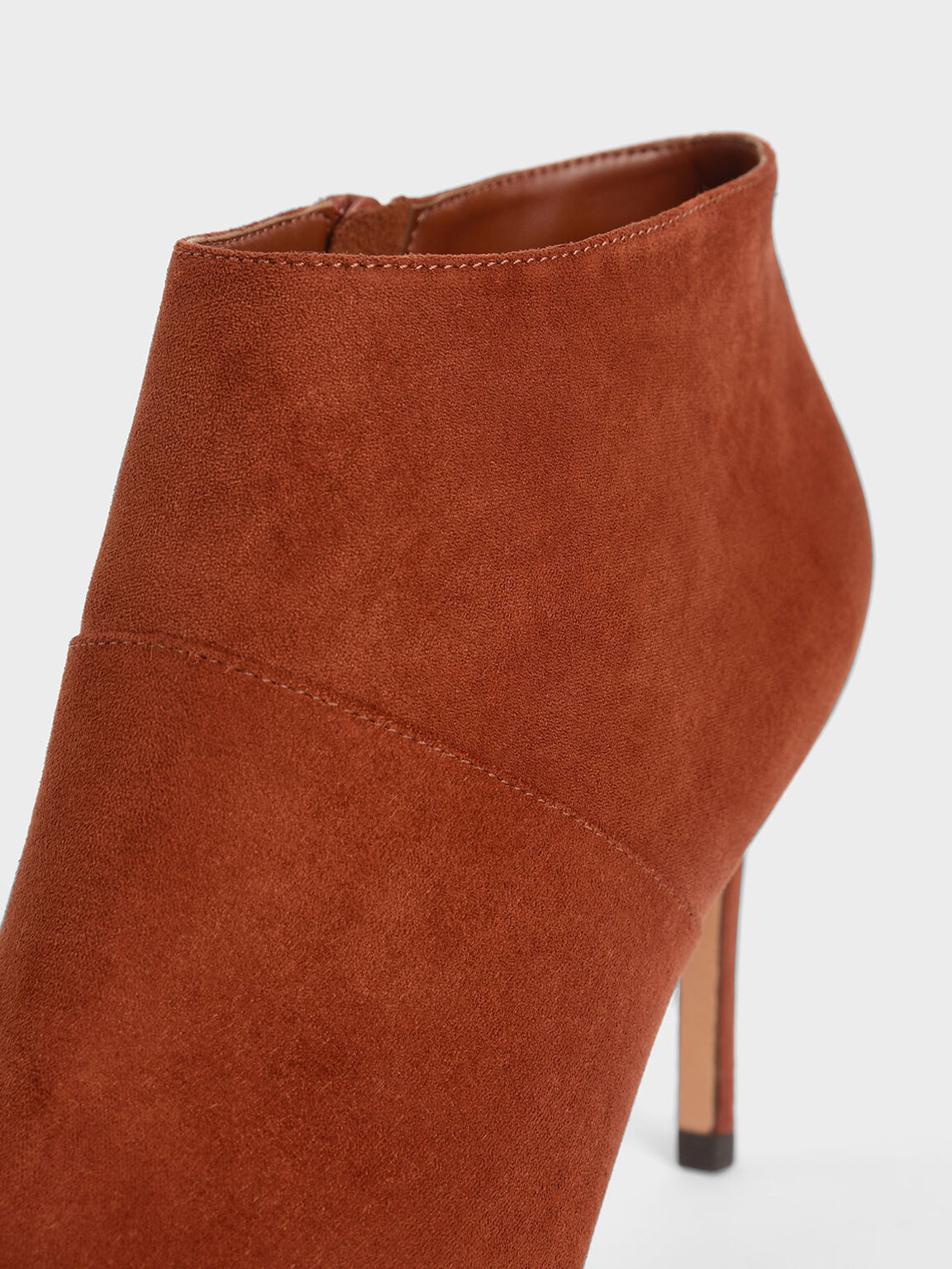Stiletto Ankle Boots, Brick, hi-res