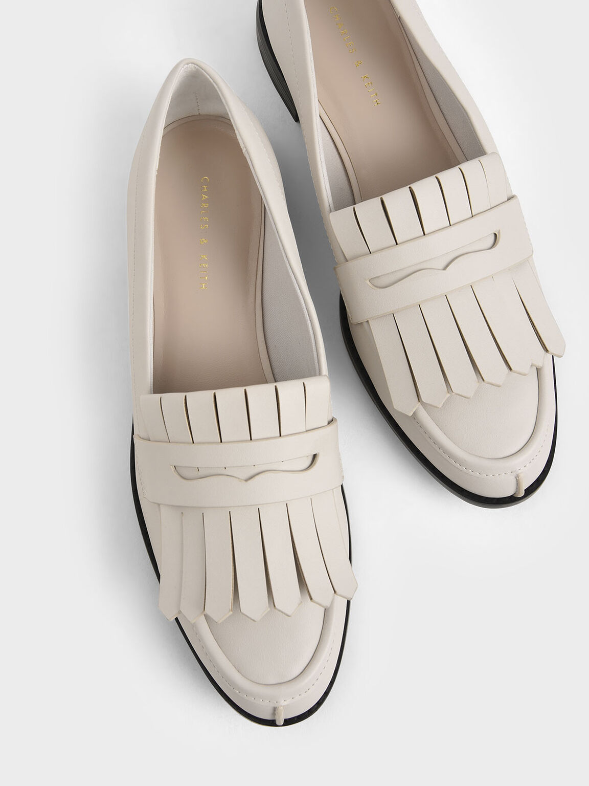 Frill Loafers, Chalk, hi-res