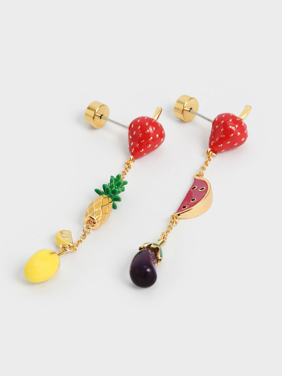 Fruits Drop Earrings, Multi, hi-res