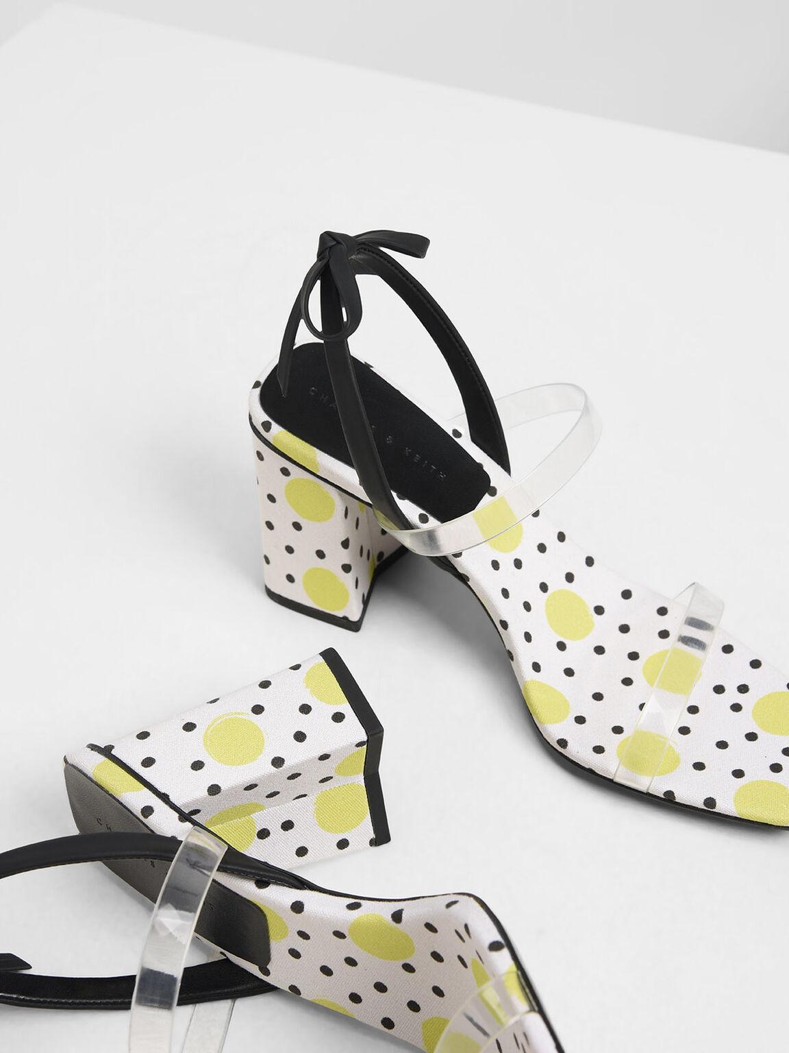 Bow Tie Strappy Sandals, Multi, hi-res