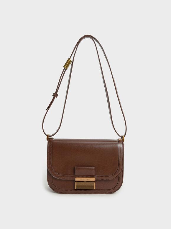 Charlot Bag, Dark Brown, hi-res