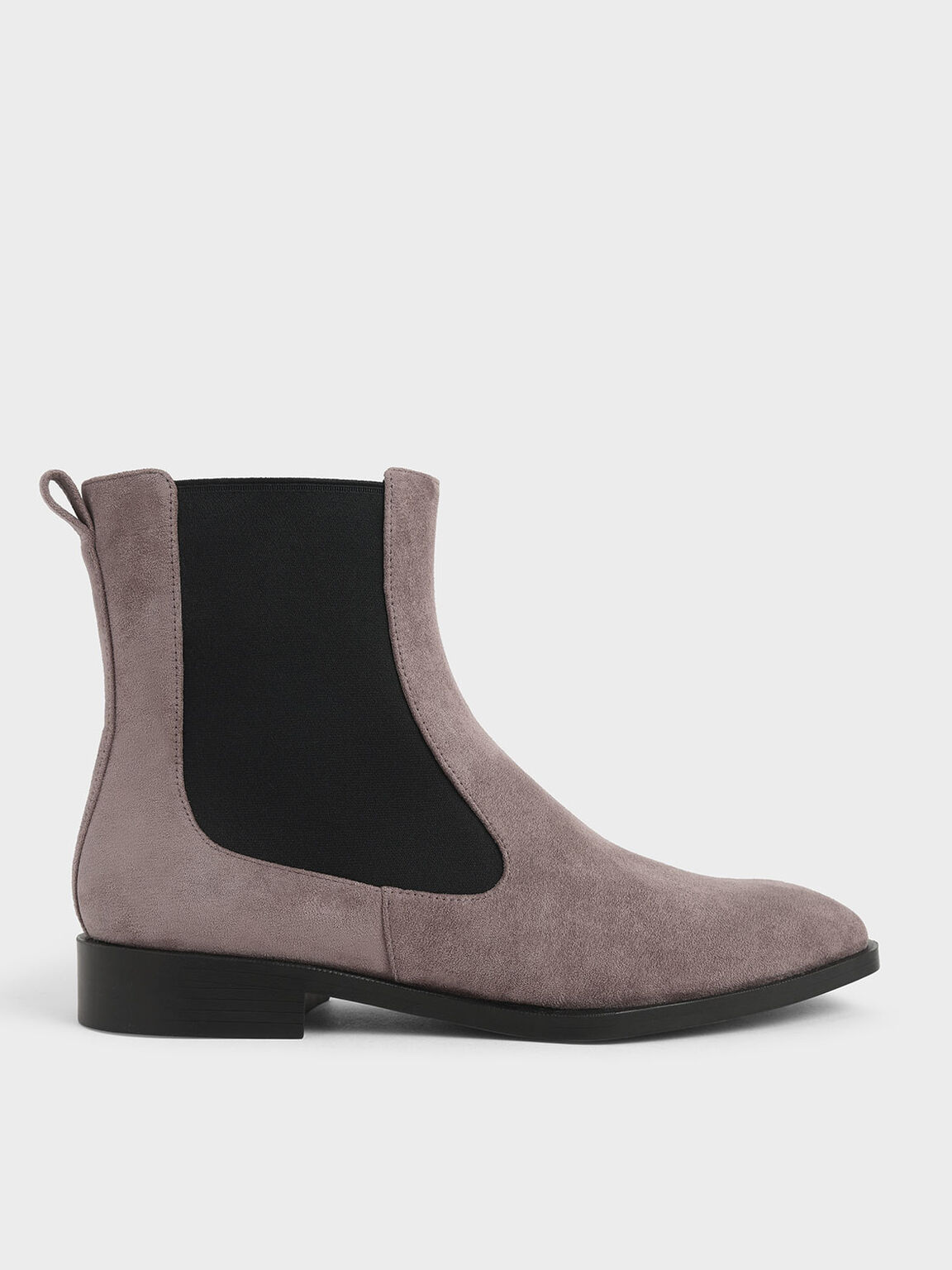 Textured Chelsea Boots, Taupe, hi-res