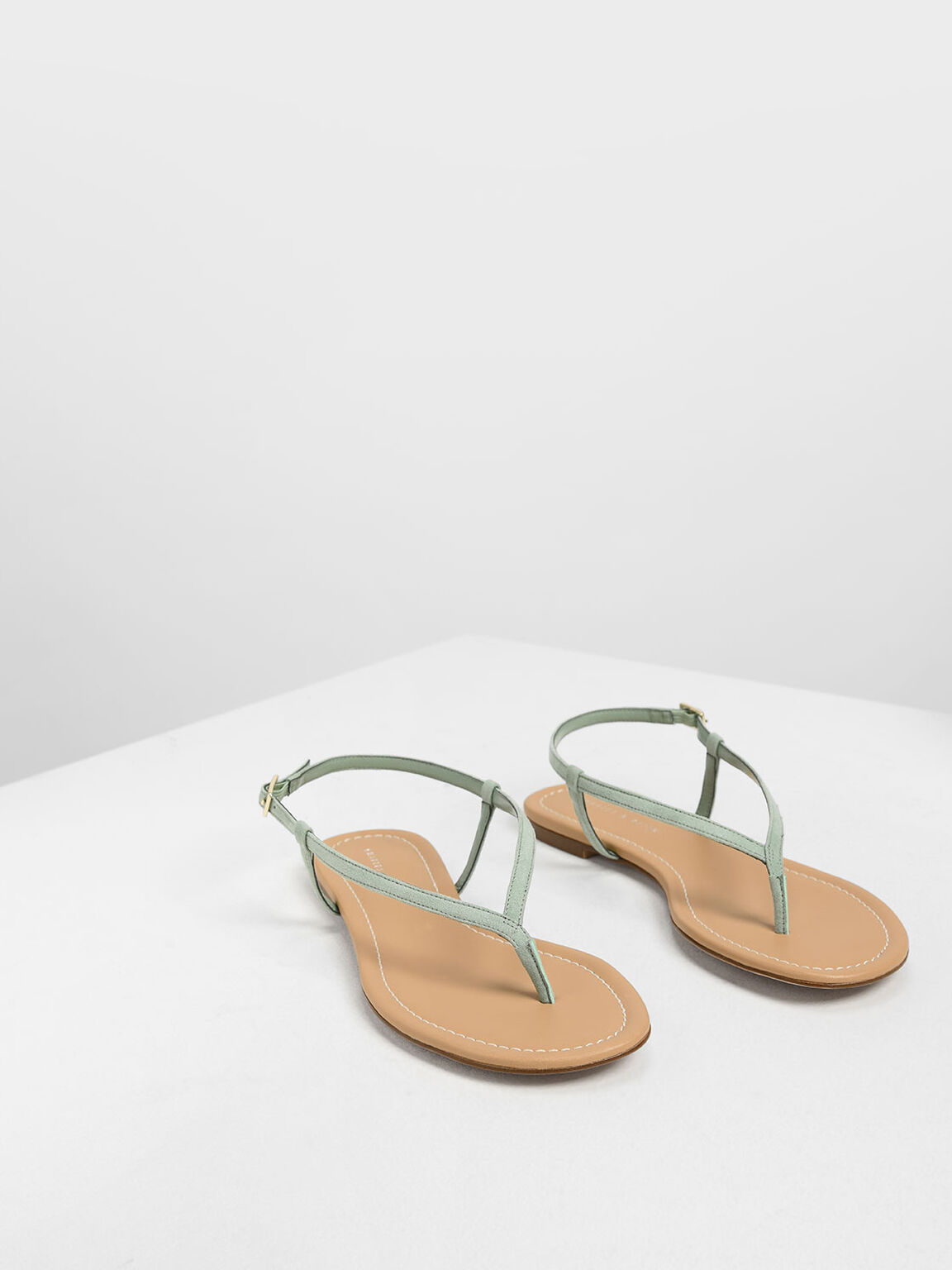 Classic Thong Sandals, Green, hi-res