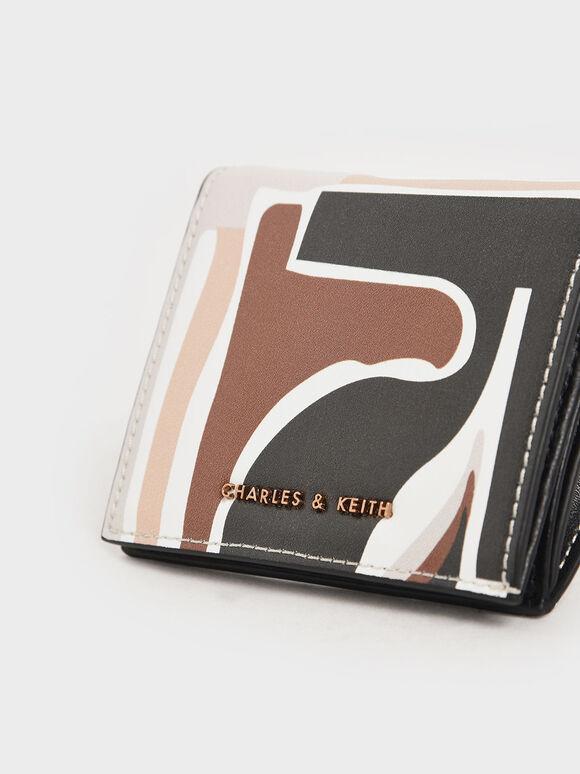 Printed Small Wallet, Multi, hi-res