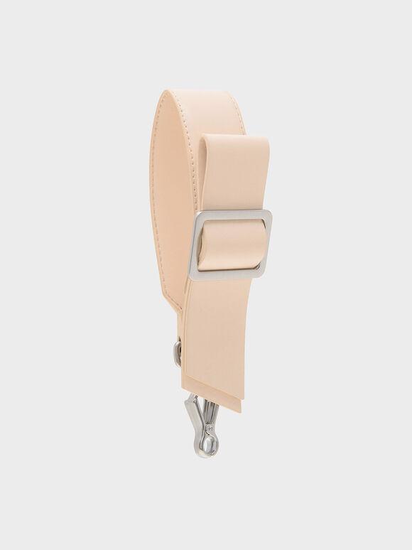 Buckled Bag Strap, Pink, hi-res