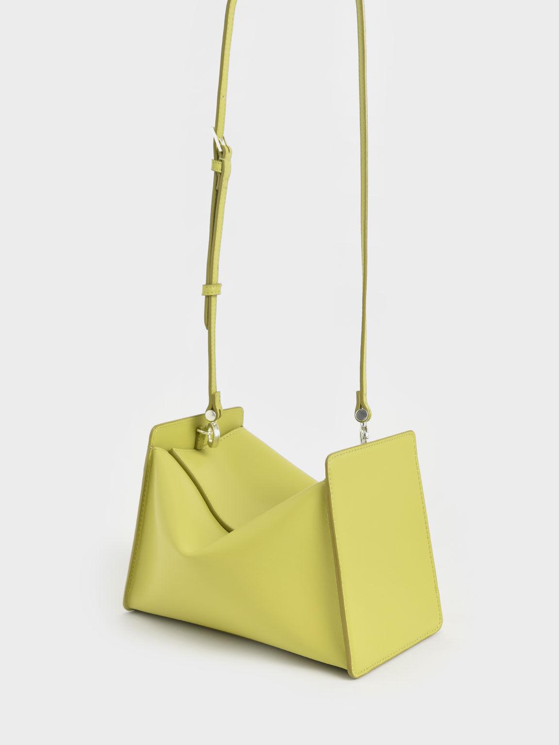 Slouchy Top Handle Bag, Lime, hi-res