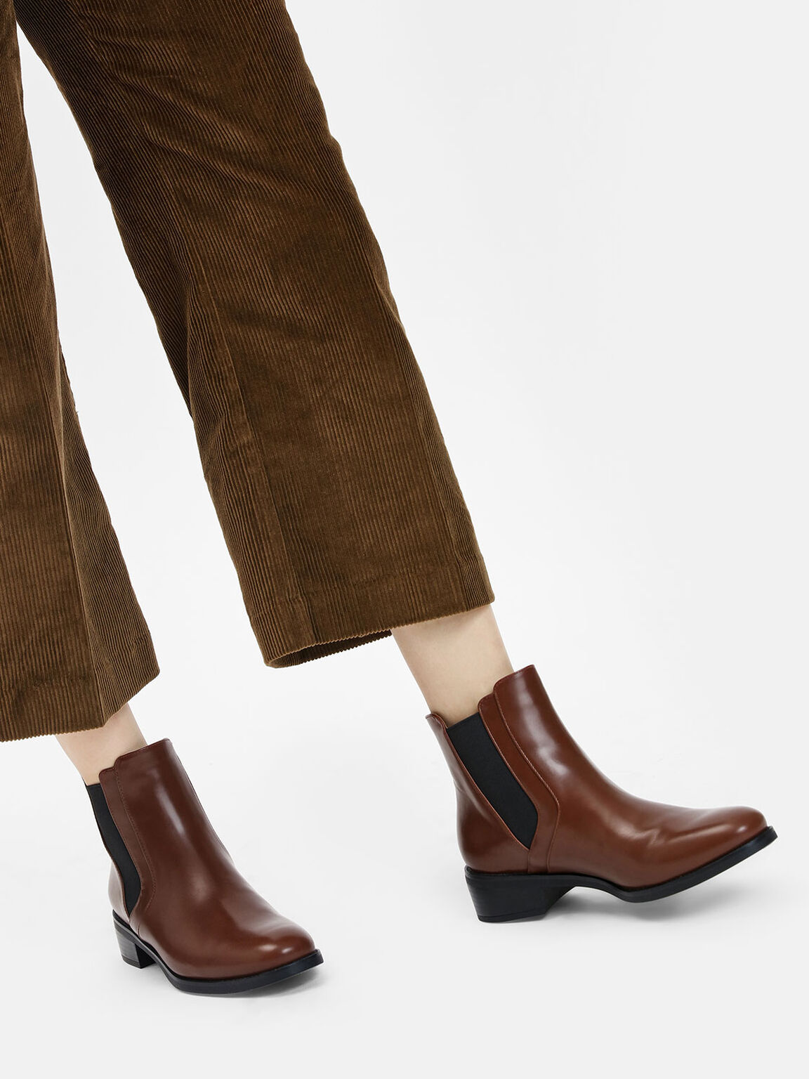 Classic Ankle Boots, Cognac, hi-res