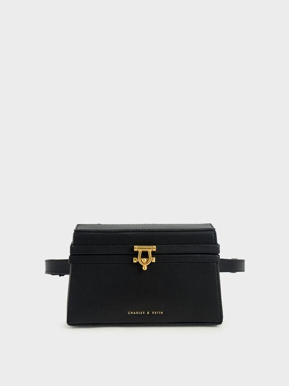 Trapeze Belt Bag, Black, hi-res