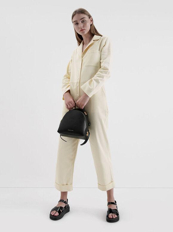 Dome Backpack, Black, hi-res