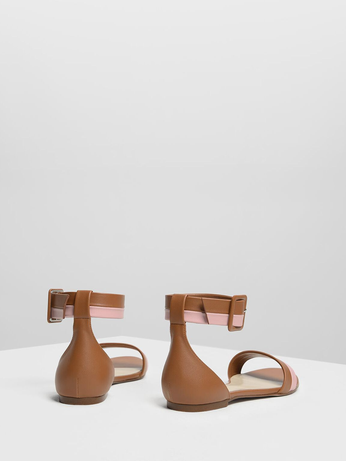 Open Toe Ankle Cuff Sandals, Multi, hi-res