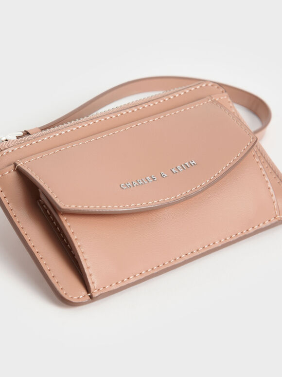 Wristlet Card Holder, Blush, hi-res