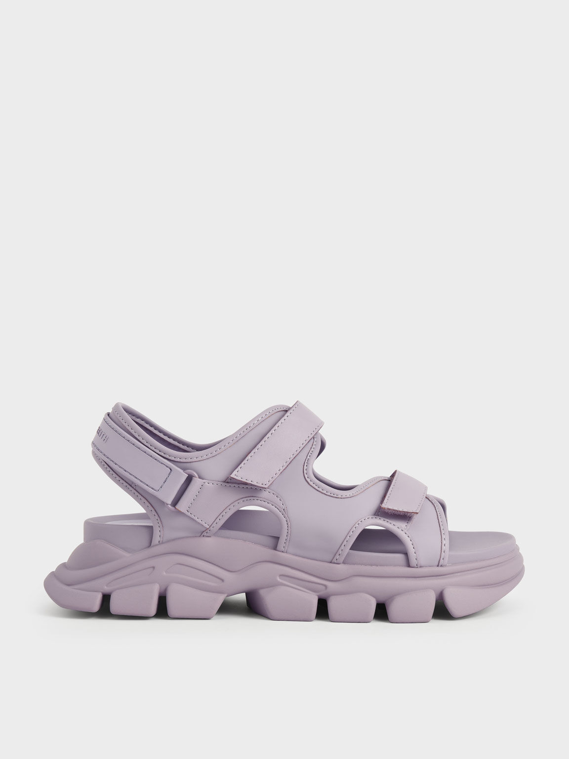 Chunky Sports Sandals, Lilac, hi-res