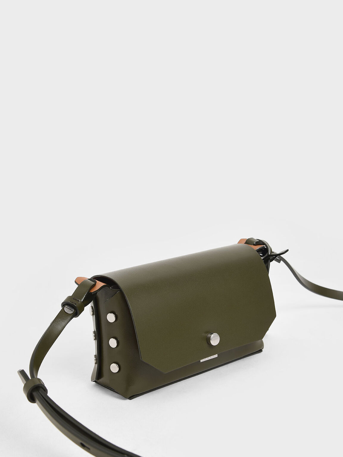 Mini Reversible Front Flap Crossbody Bag, Olive, hi-res
