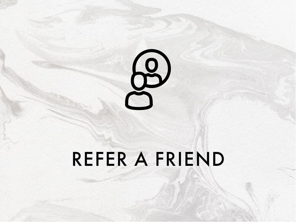 REFER A FRIEND & GET £10 off
