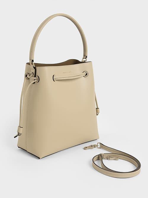Drawstring Hobo Bag