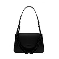 CHUNKY CHAIN LINK SHOULDER BAG
