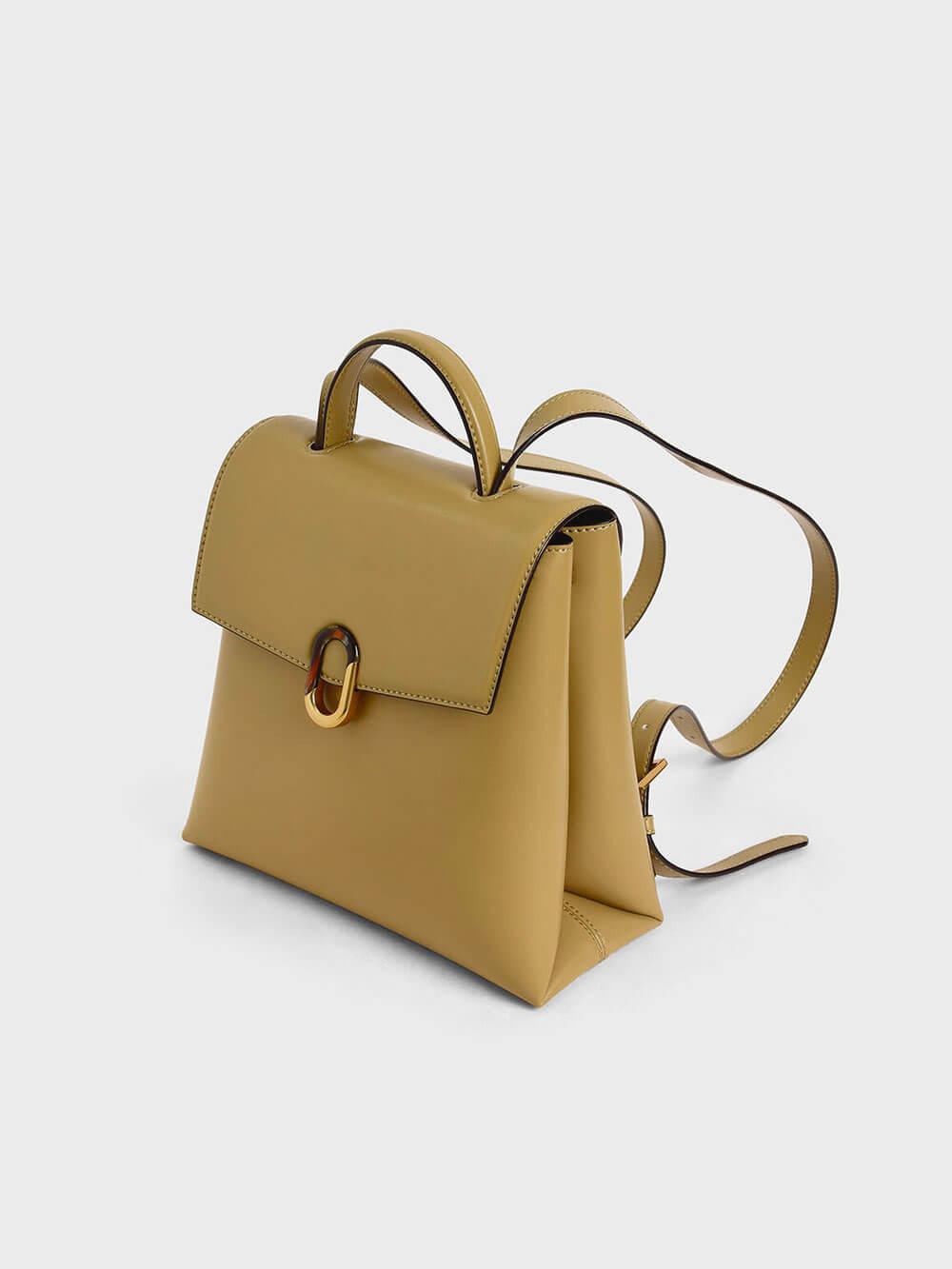 Stone-Embellished Backpack