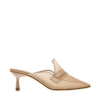 Mesh Loafer Mules