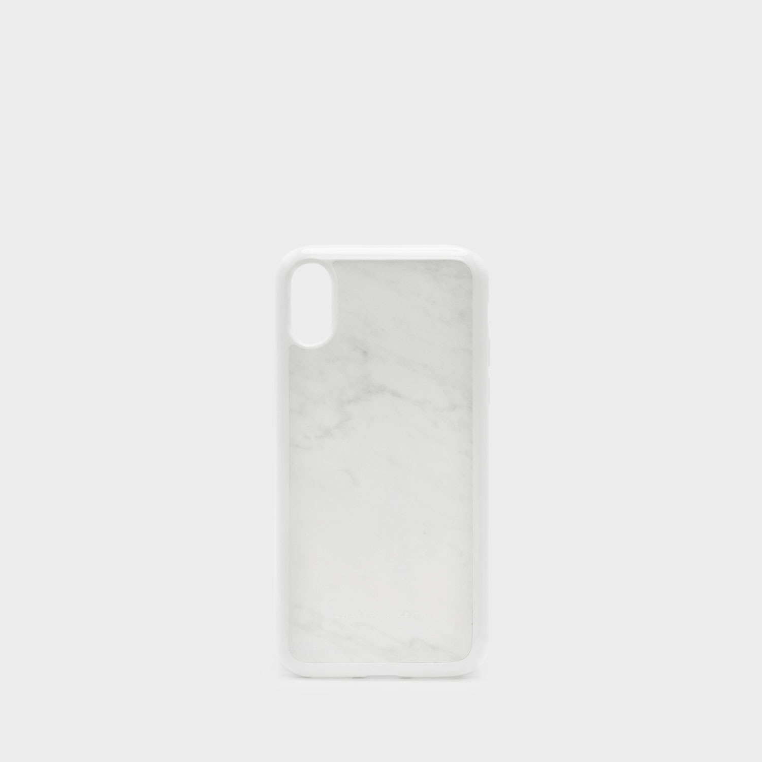 Charles & Keith iPhone X Marble Case